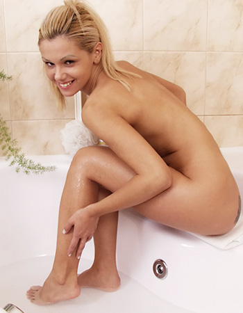 rasierte Beine